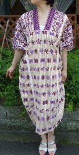 ミステコ族の手織りウィピル・希少・ビンテージ