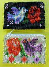 グアテマラビーズ刺繍ポーチ