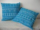 メキシコ刺繍・ナワ族の鳥刺繍クッションカバー・4カラー