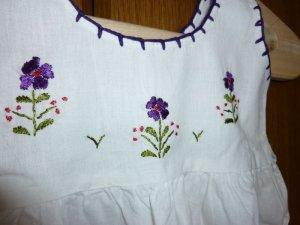画像2: ベビー用メキシコ刺繍ワンピース