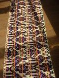 メキシコ刺繍・マサワ族の鳥刺繍テーブルランナー・カラフル