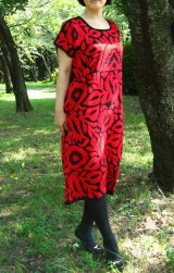 値下げ!メキシコ刺繍マサテコ族の鳥刺繍ウィピル(ワンピース)